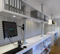 Schubladensystem & Verkaufsbereich